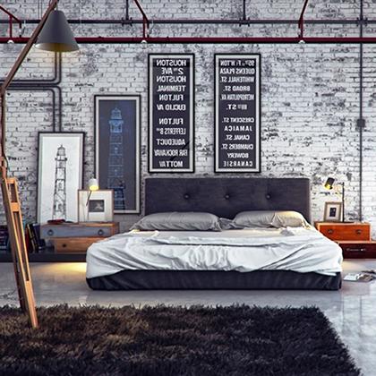 Qu es el estilo industrial y c mo usarlo en tu hogar for Decoracion piso hombre