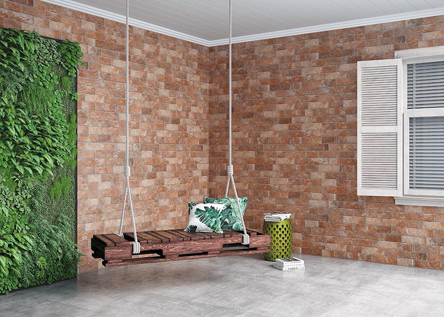 estilo rústico, decoración, cerámicos, diseño, interior