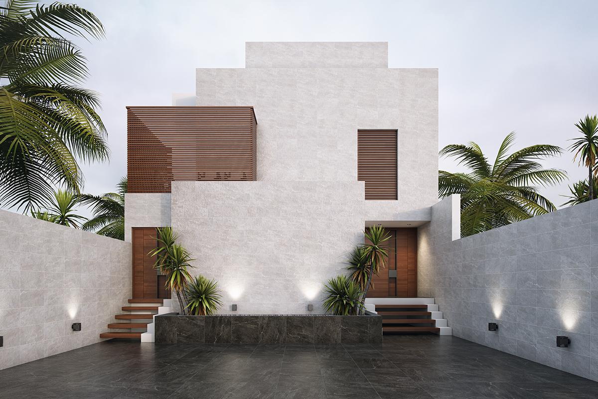 galería fachadas