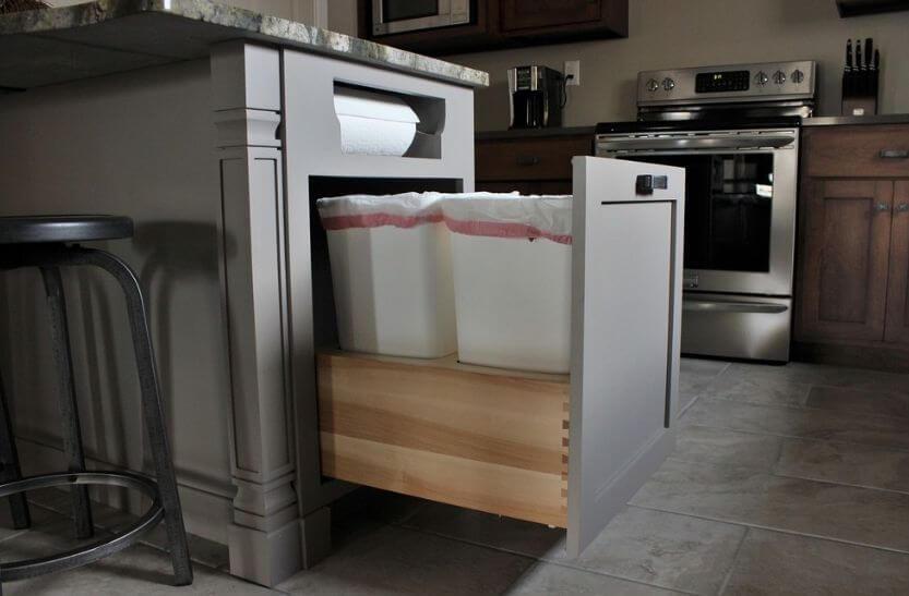 hogar sustentable, separa basura
