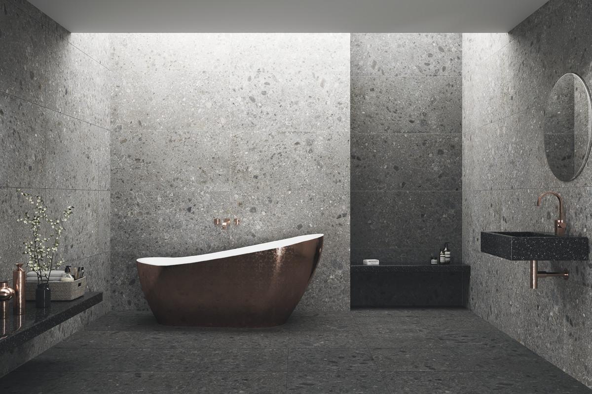 tendencia azulejos pisos terazzo