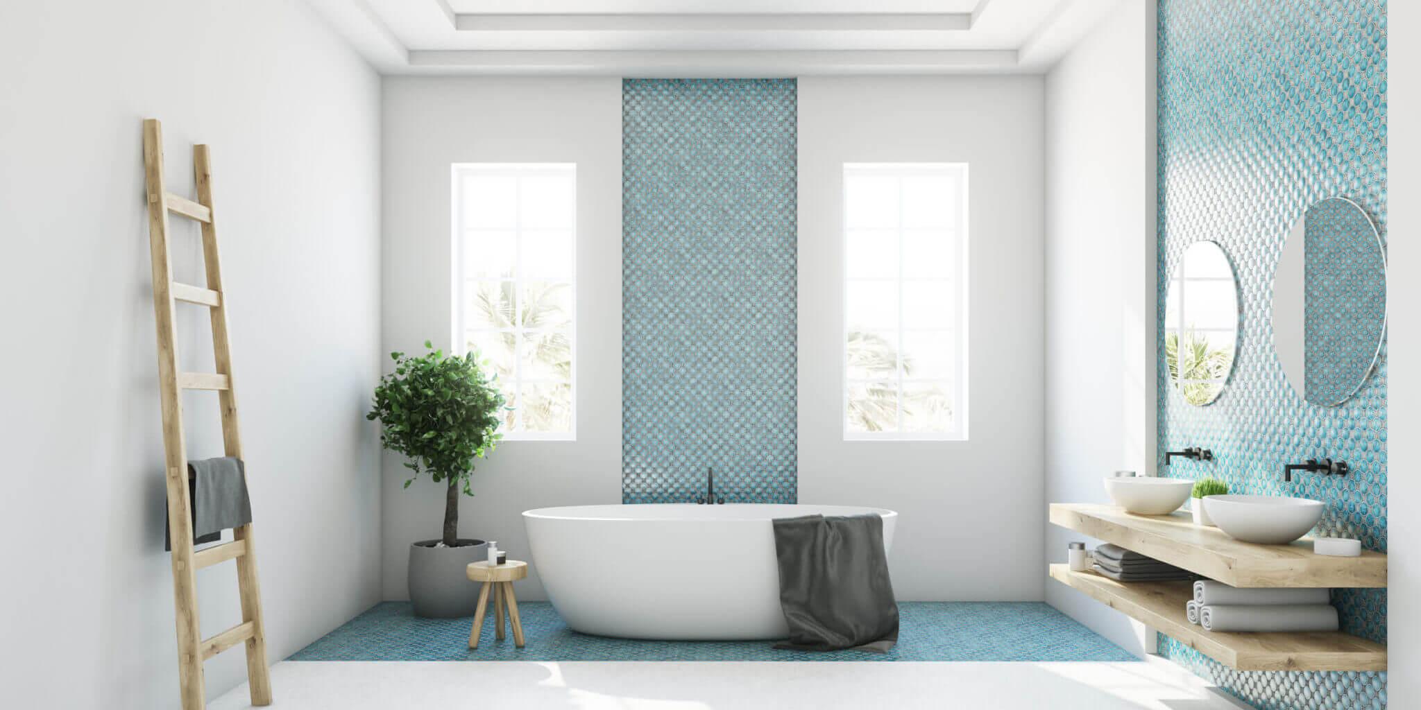 azulejos, baños, bonito, homedecor, diseño
