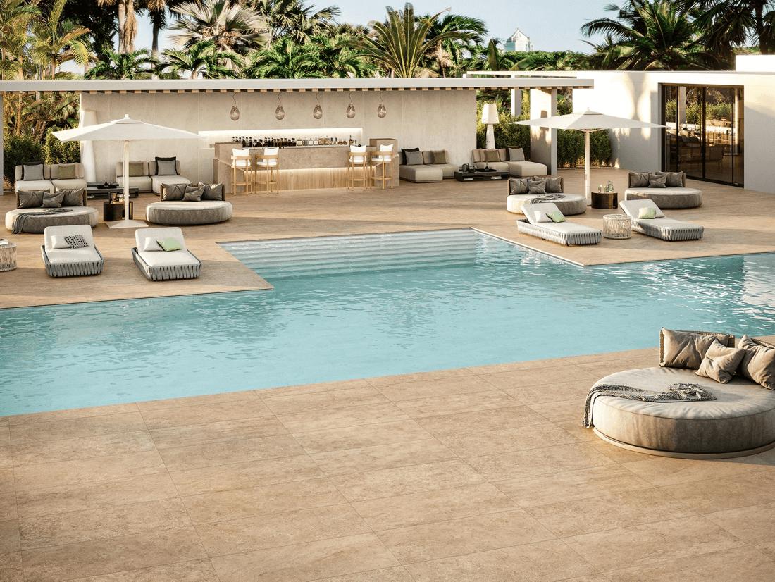 azulejos saludables pisos patios piscina alberca porcelanato cerámico
