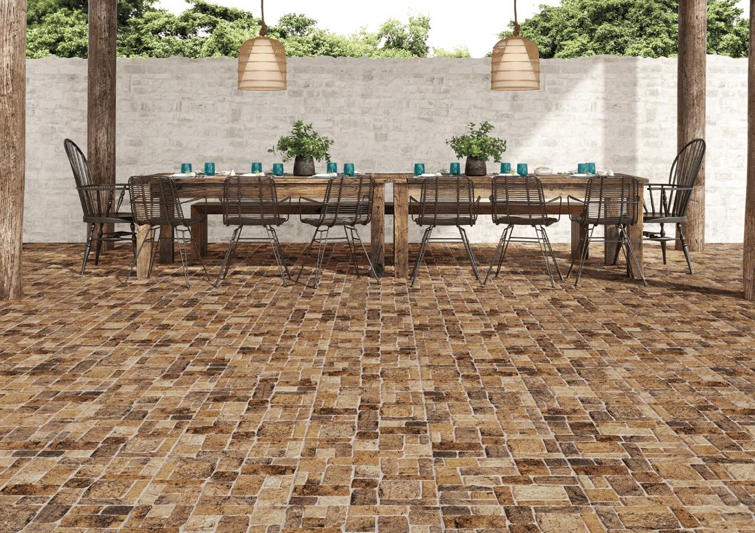 azulejos saludables pisos patios exterior porcelanato cerámico