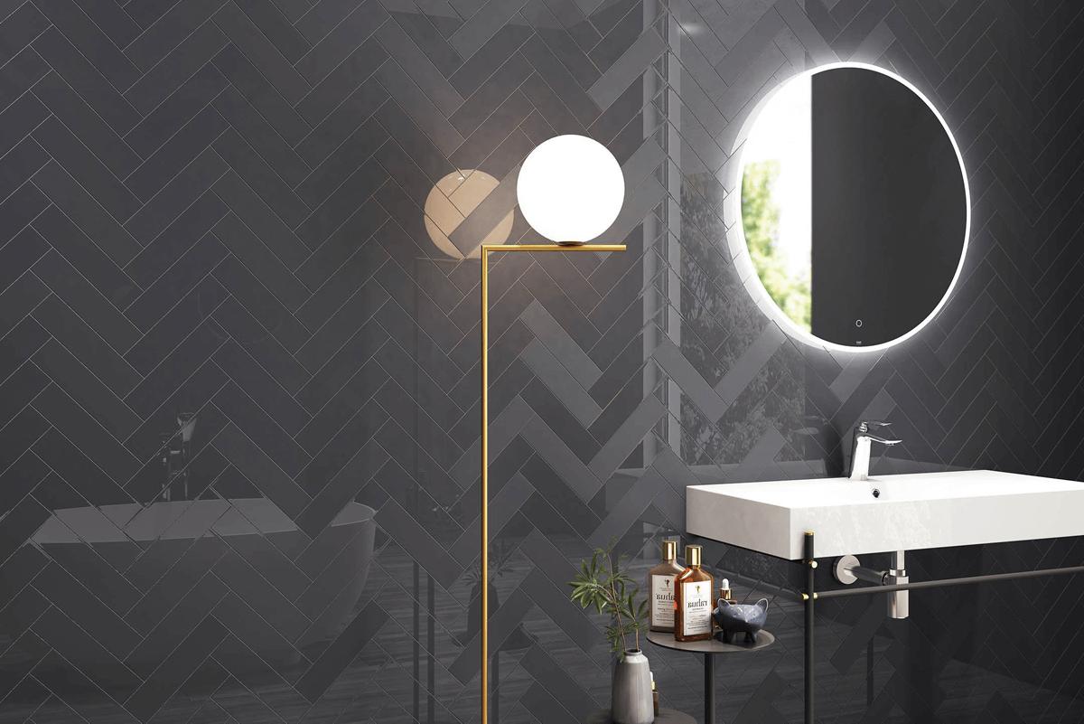 cerámicos porcelánicos porcelanatos diseño interiores baño baños formas